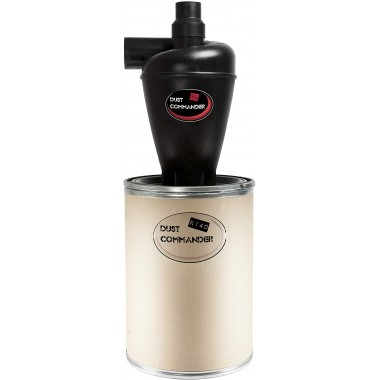 DUST COMMANDER K140 - XL Cyclone Separator Kit 140 L Kraft barrel