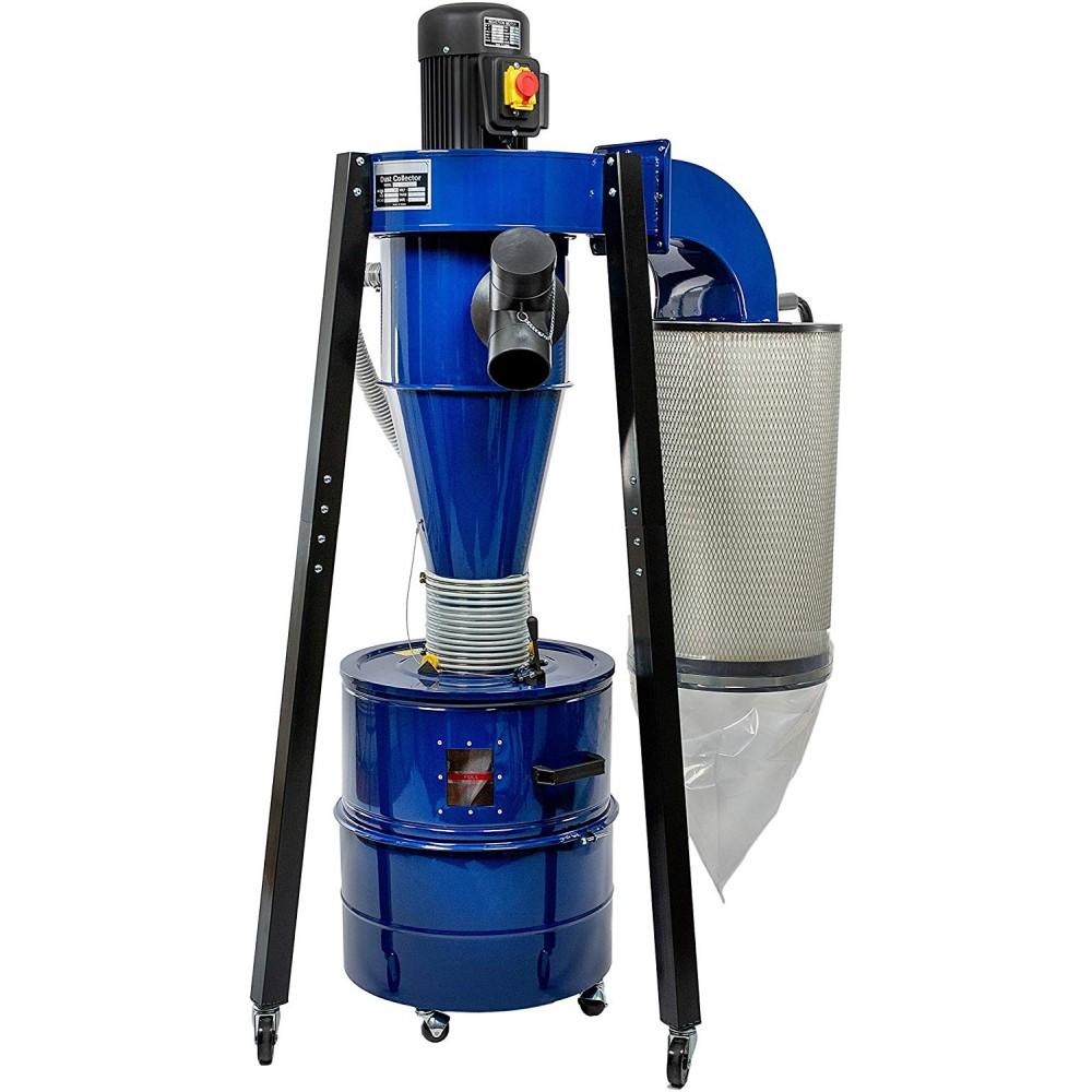XL Cyclone Separator Kit 140 L Kraft barrel DUST COMMANDER K140